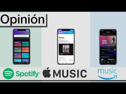 Apple Music, Spotify o Amazon music | Mejor servicio de música Streaming