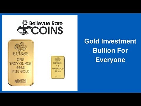 Gold Investment Bullion For Everyone