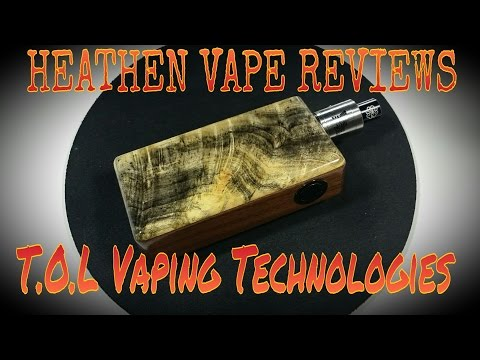 Hand Crafted Series Box by T.O.L.Vaping Technologies | American Made