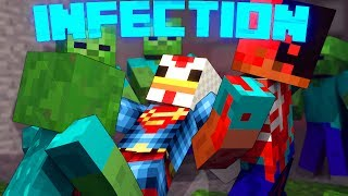 Minecraft | BACTERIA INFECTION MOD Showcase! (Virus Infection, Bacteria Infection, Apocalypse)