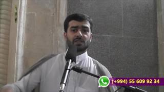 Hacı Samir cümə moizəsi16092016