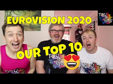 EUROVISION 2020 - ALL SONGS - OUR TOP 10 - REACTION