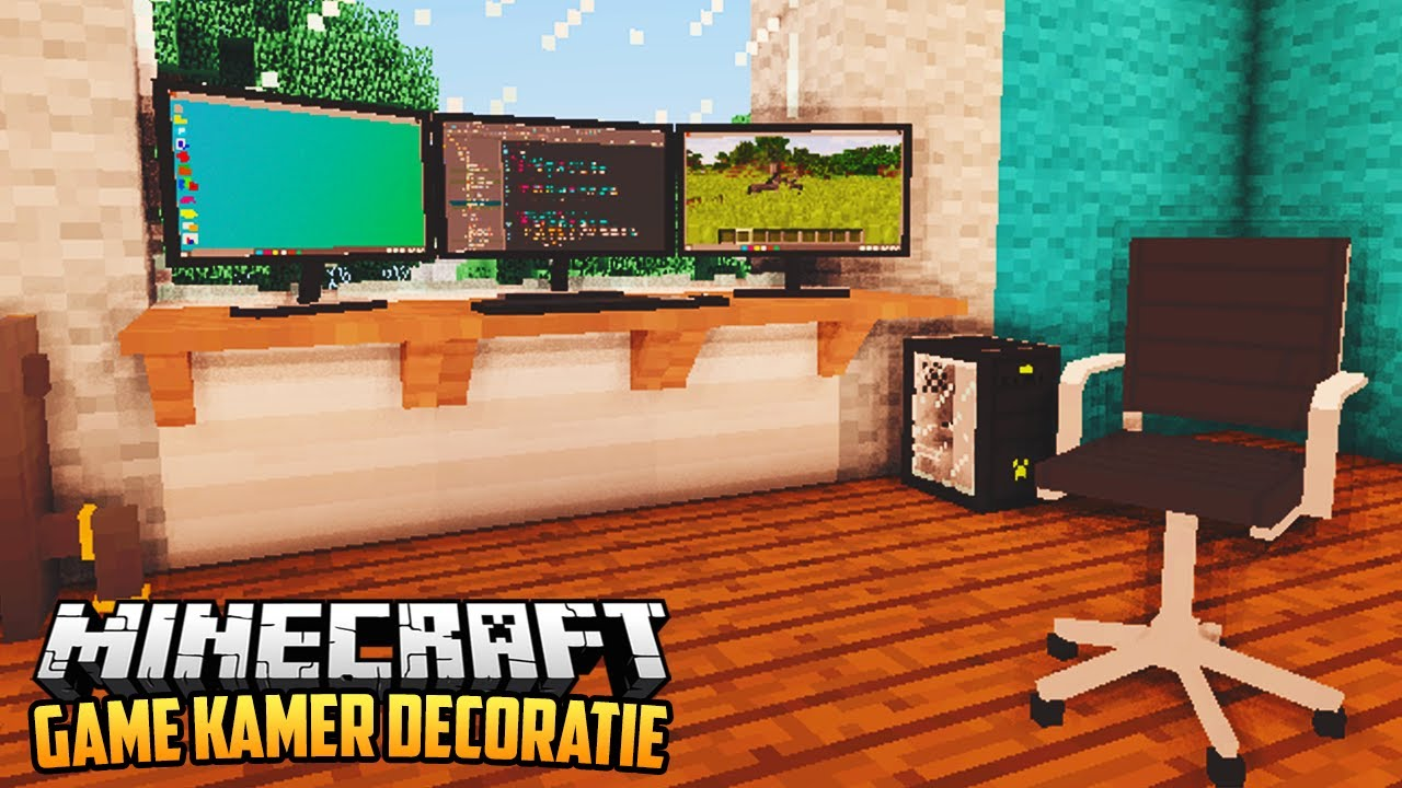 Extreem GAME KAMER DECORATIE MOD - Minecraft Mod Showcase - YouTube &VQ98