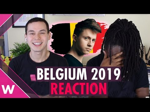 "Belgium   Eurovision 2019 reaction video   Eliot ""Wake Up"""
