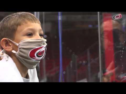 Chase's wish to meet Jeff Skinner (Carolina Hurricanes)