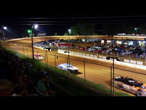 602 crate main at Laurens Speedway 7/28/18