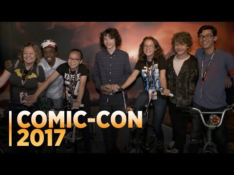 STRANGER THINGS: The Cast Surprises Fans at Comic-Con 2017