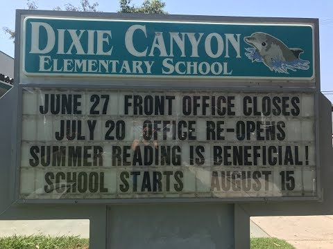 Dixie Canyon Community Charter Welcome Video