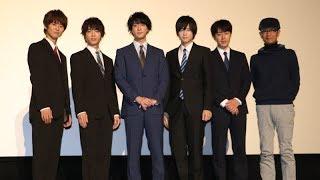 映画『シュウカツ3』公開記念舞台挨拶