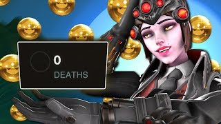 0 DEATHS on Widowmaker while Full Holding Junkertown - Overwatch