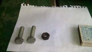 как сделать бомбочку из гайки