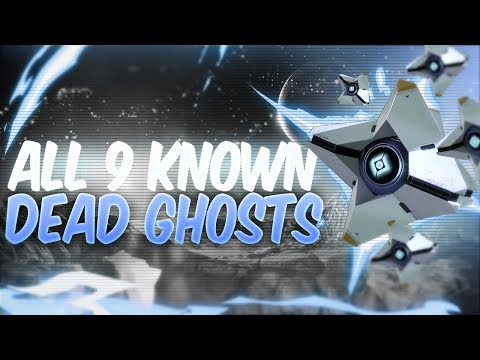 ALL 9 KNOWN DEAD GHOST LOCATIONS! (Destiny 2: Shadowkeep)