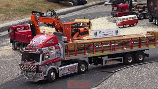 RC trucks and construction machines - Bahnhofsfest Baiersbronn 2016 - part 2