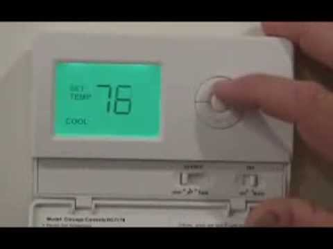hqdefault tamper proof thermostat landlord thermostat completely tamper Honeywell Thermostat Wiring Diagram at gsmx.co