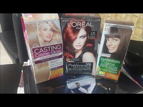 Краски для волос из супермаркета/ Какая лучше/
