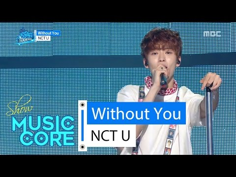 [HOT] NCT U - WITHOUT YOU,  엔씨티 유 - 위드아웃 유 Show Music core 20160416