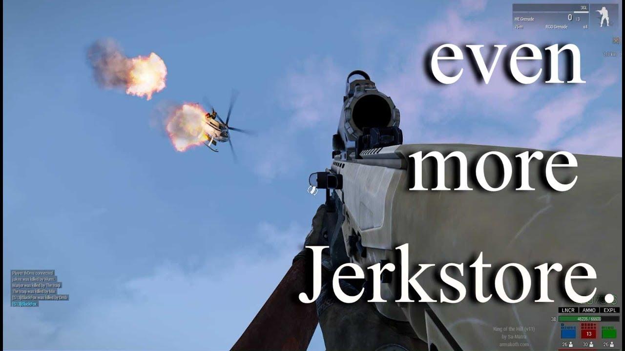 Arma 3 KOTH: even more Jerkstore