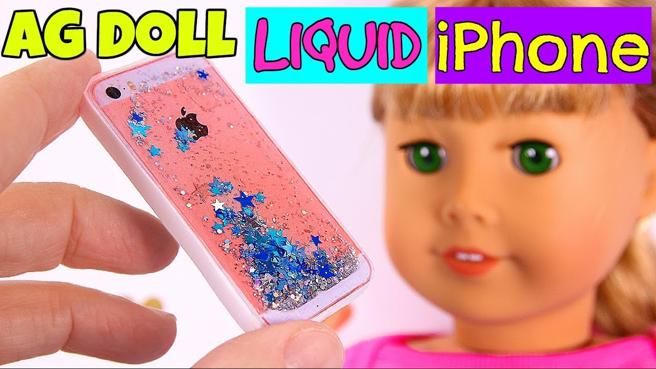 image relating to American Girl Doll Iphone Printable identified as Do-it-yourself American Woman Doll Liquid apple iphone