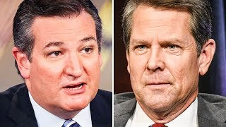 Faulty Voting Machines Could Propel Ted Cruz & Brian Kemp To Victory