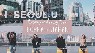 Travel Vlog | KOREA + JAPAN