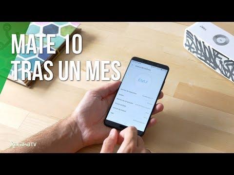 Huawei Mate 10 tras un mes de uso: ¿el MEJOR PHABLET?