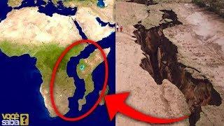 ÁFRICA ESTÁ SE DIVIDINDO EM DOIS CONTINENTES??