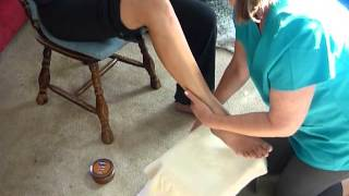 Dee Gale's Leg and Foot Massage Routine