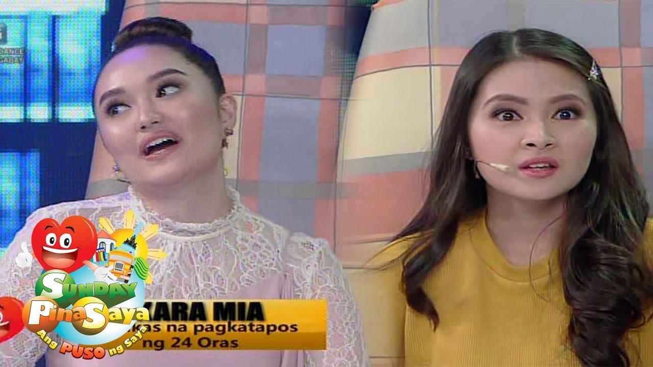 Sunday Pinasaya: Kambal na si Kara at Mia, hindi magpapakabog!.