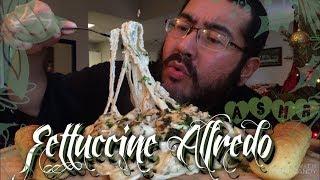 Baby? Asmr #601 Fettuccine Alfredo!