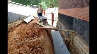 видео Ливневка вокруг дома, ливневая канализация под ключ
