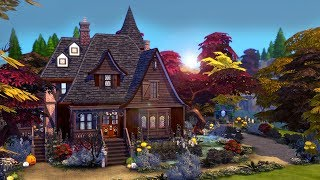 Witch 39 S Cottage The Sims 4 Speed Build