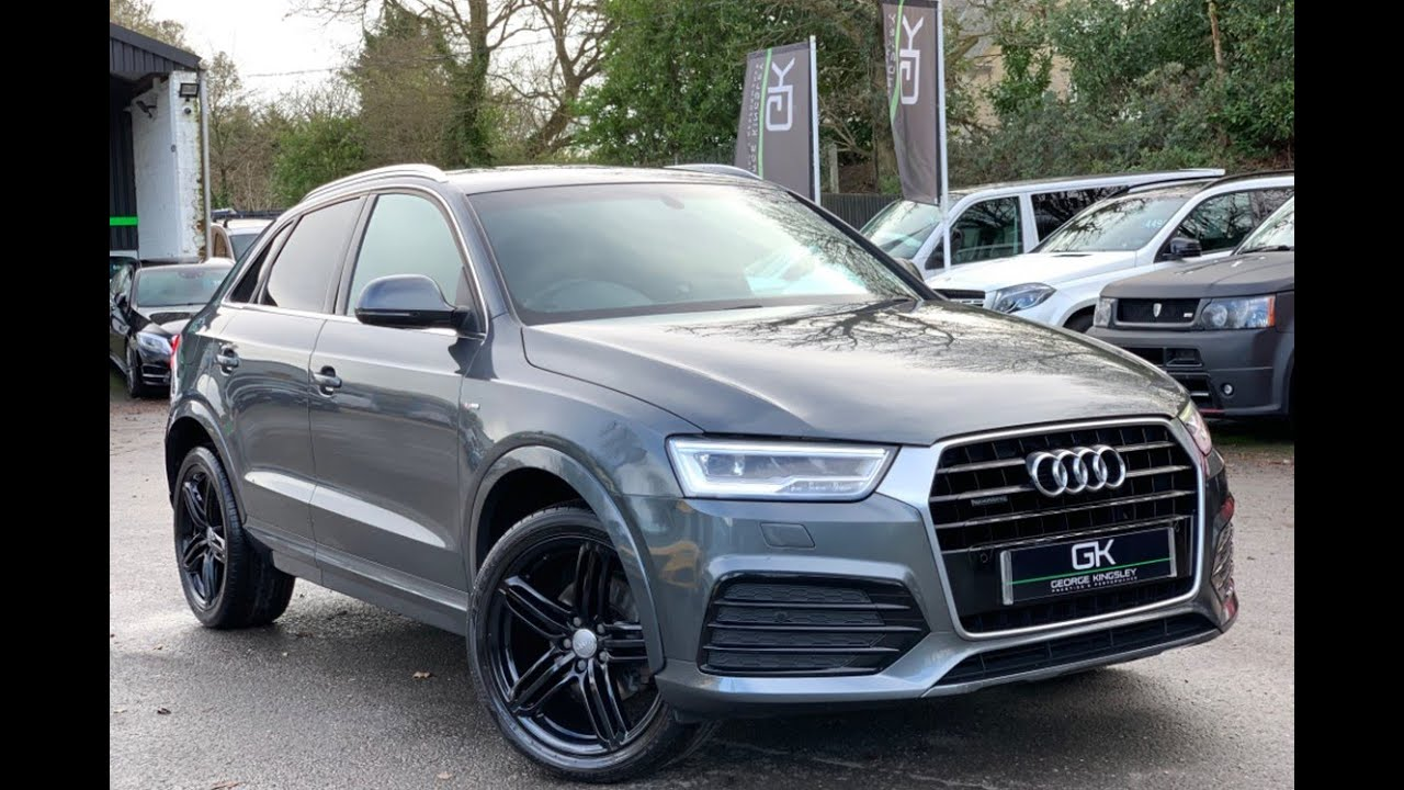 2015 65 Audi Q3 2.0 TDI Quattro S Line S-Tronic with Camera, Electric Tailgate for sale at GK