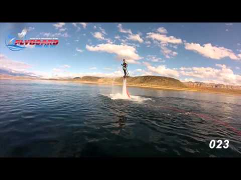 Learning to fly the Flyboard - first time riders show it's easier than you think!