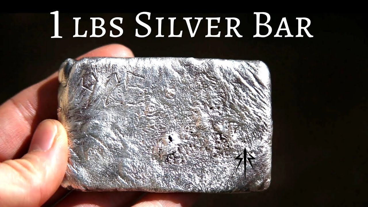 Casting 1 Pound Silver Bar