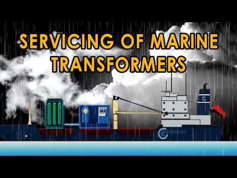 Transformer oil filter machine at offshore drilling platforms