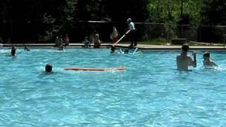 Grant swimming Wapsie