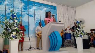Dina Santos em Remanso Bahia fogo puro