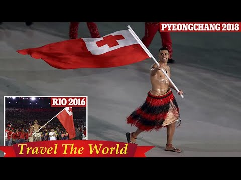 Topless and toned Tongan athlete again wins admirers at Winter Games  - Travel Guide vs Booking