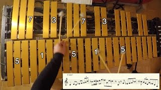 Jazz Vibraphone Lesson: Turning Scales into Melody
