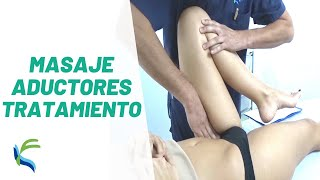 Tratamiento Aductores Kinesiotaping Fisiolution
