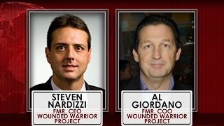 Wounded Warrior Project chiefs fired over spending controversy