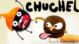 ПРИКЛЮЧЕНИЯ ЧУЧЕЛ мультик игра для маленьких детей #5 -игровой мультфильм 2018 Черный шарик Chuchel!