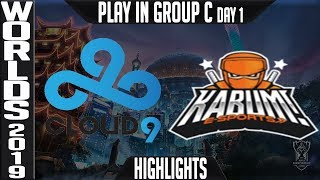 C9 vs KBM Highlights | Worlds 2018 Play In Group C | Cloud9 vs Kabum! e-Sports