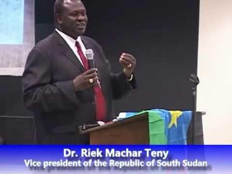 Dr. Riek Machar speech in Omaha on 10/6/2012