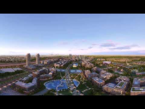 Dubai Hills 360 Animation