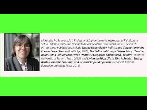 "Margarita M. Balmaceda ""The Politics of Energy Dependency: Ukraine, Belarus and Lithuania..."""