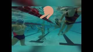 Синхронное плавание . *опорный гребок*