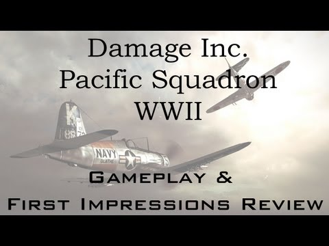 Damage Inc. Pacific Squadron WW2 (arcade mode) PC Gameplay, Analysis and First Impressions Review