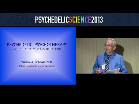 Psychedelic Psychotherapy: Insights from 25 Years of Research - William Richards