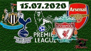 Прогнозы На Футбол Арсенал Ливерпуль Ньюкасл Тоттенхэм АПЛ 15 07 20